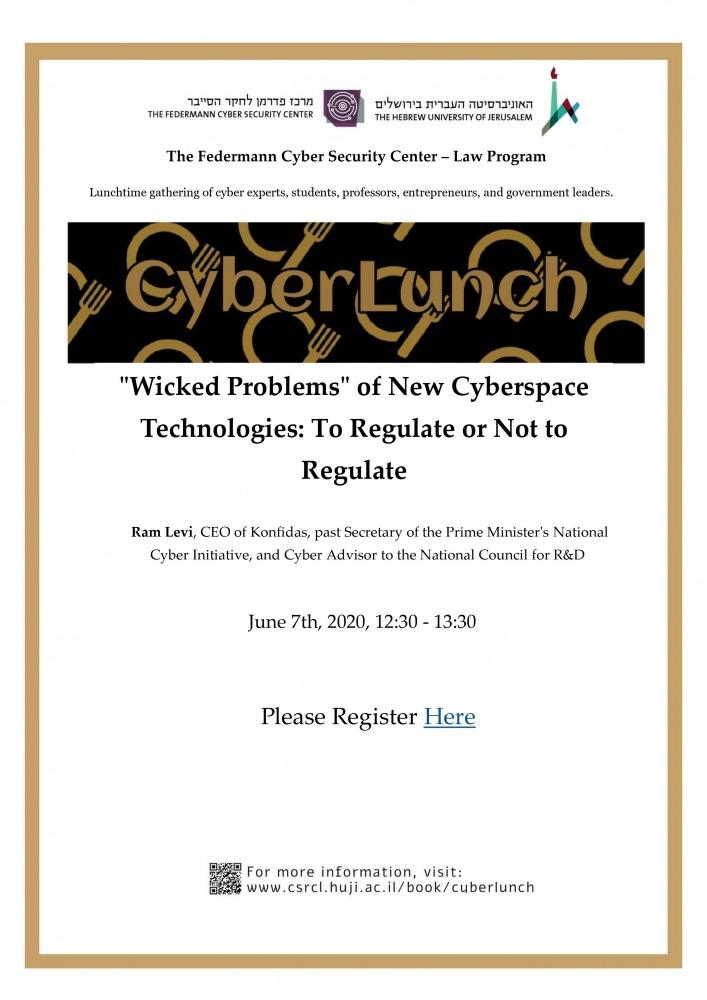 CyberLunch 7/6