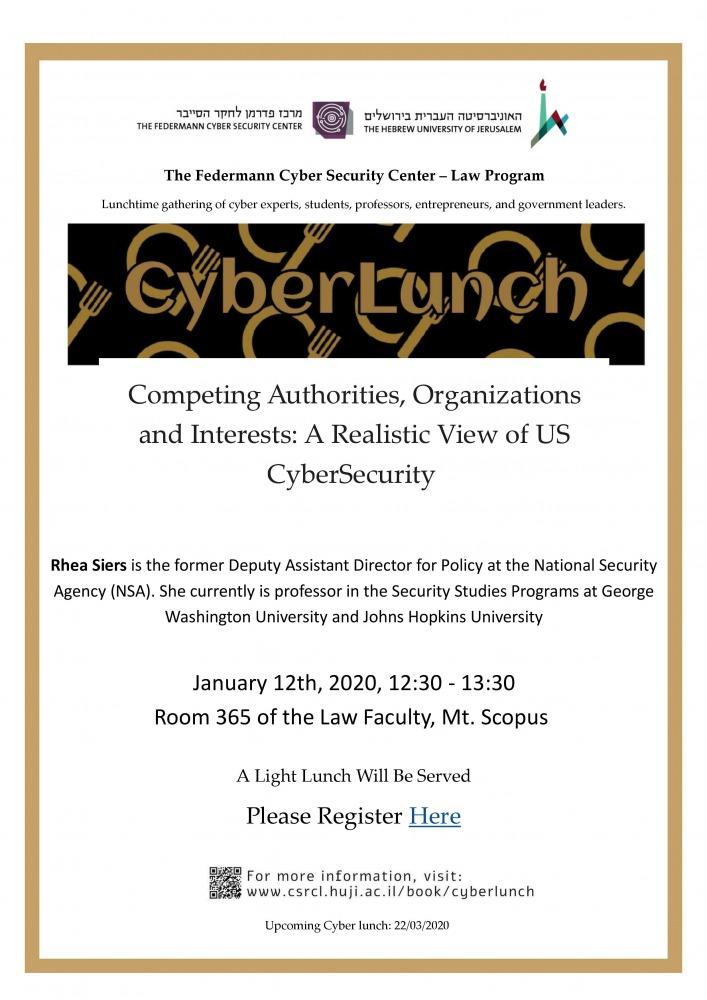 CyberLunch-12/1